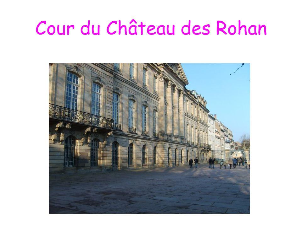 Cour du Château des Rohan