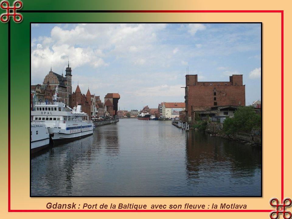 Poznan : lHôtel de ville. Il domine la place du marché