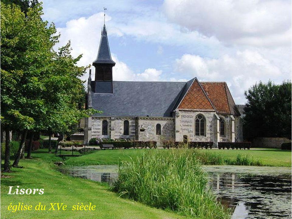 Fleury-la-Forêt le château du XVIIe siècle