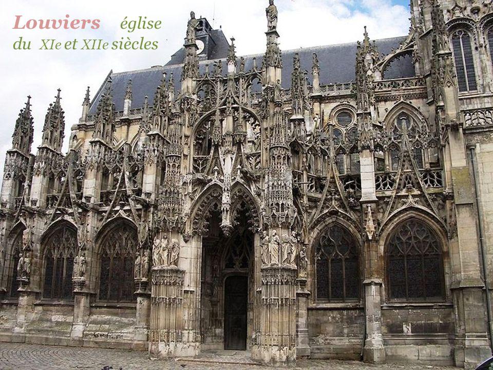 Lisors église du XVe siècle