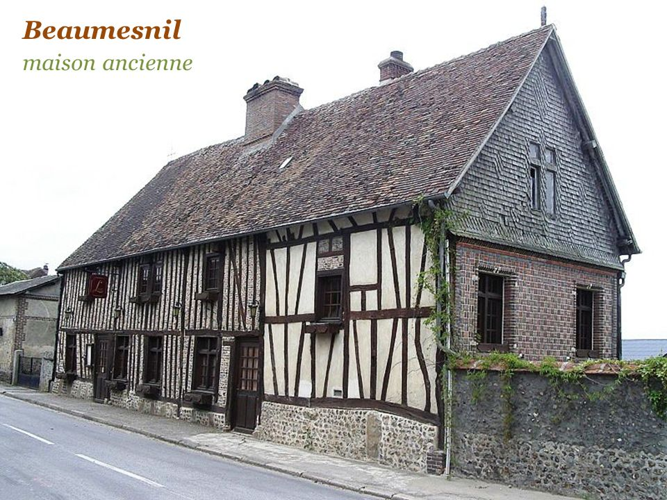 Beaumesnil château du XVIIe siècle