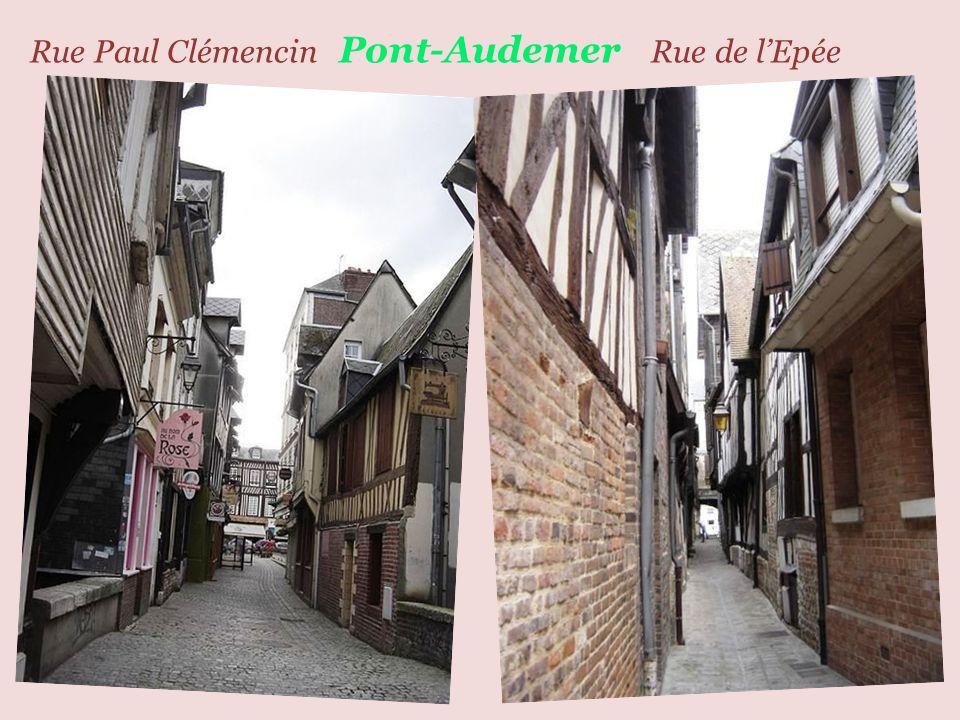 Pont-Audemer centre ville, église Saint-Ouen