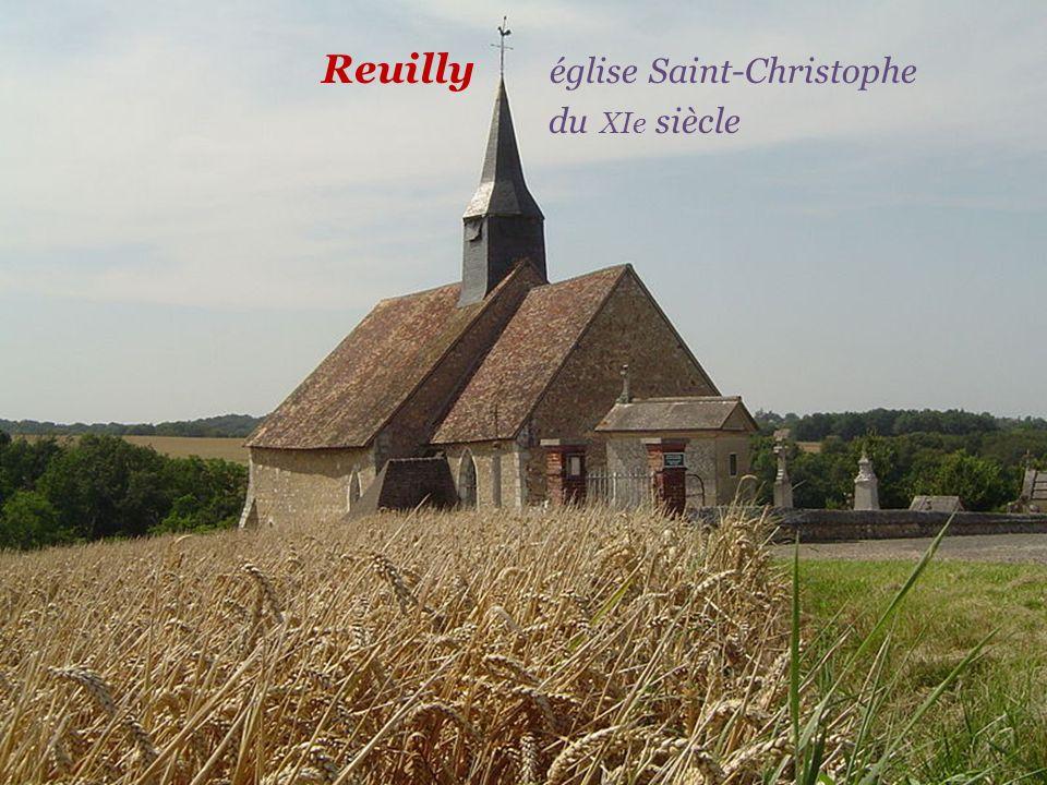 Reuilly église Saint-Christophe. du XIe siècle