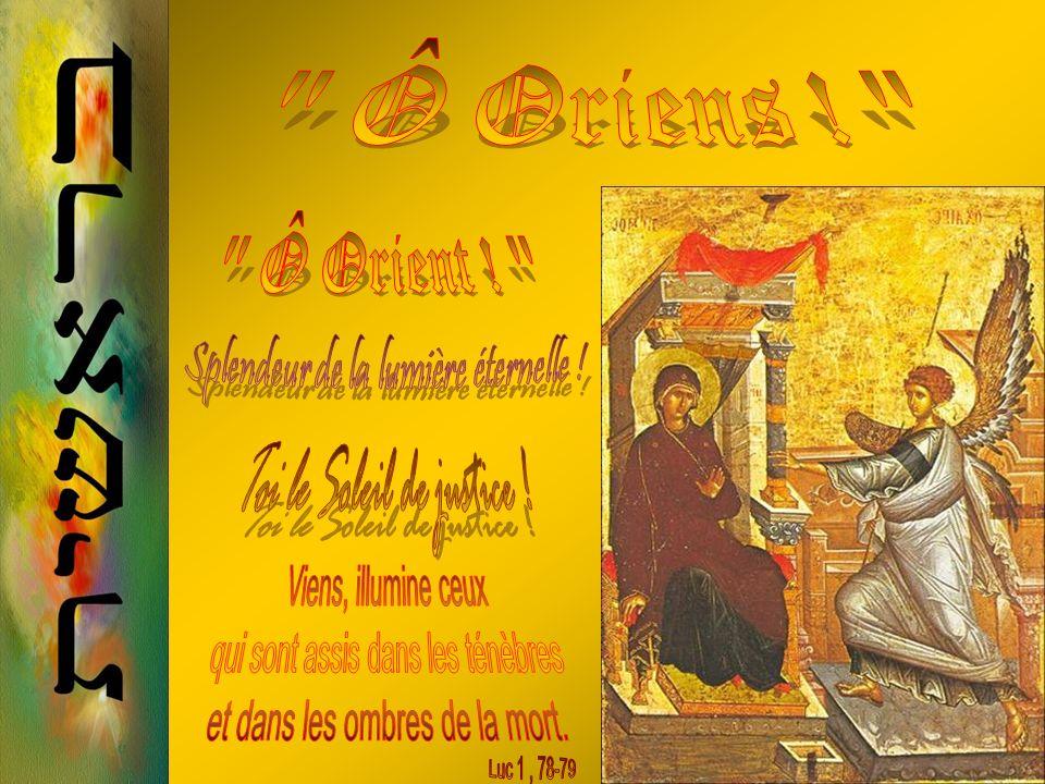 20 Décembre Ô Fils de David, héritier de son trône et de sa puissance, viens promptement ouvrir les portes avec ta CLEF toute puissante ! Ce captif, c