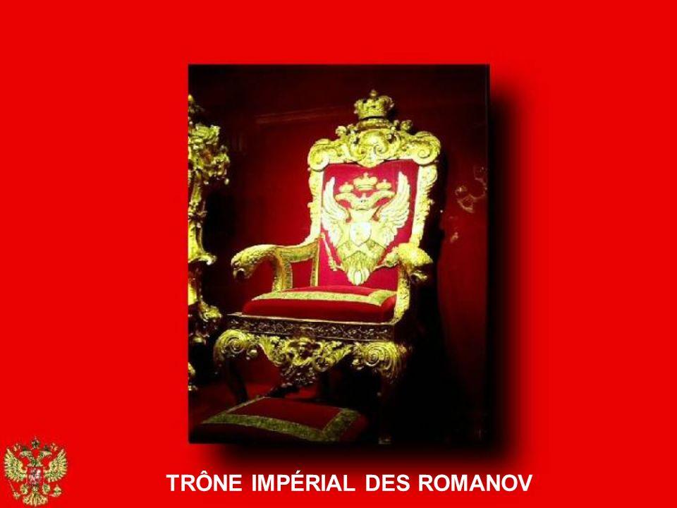 TRÔNE IMPÉRIAL DES ROMANOV