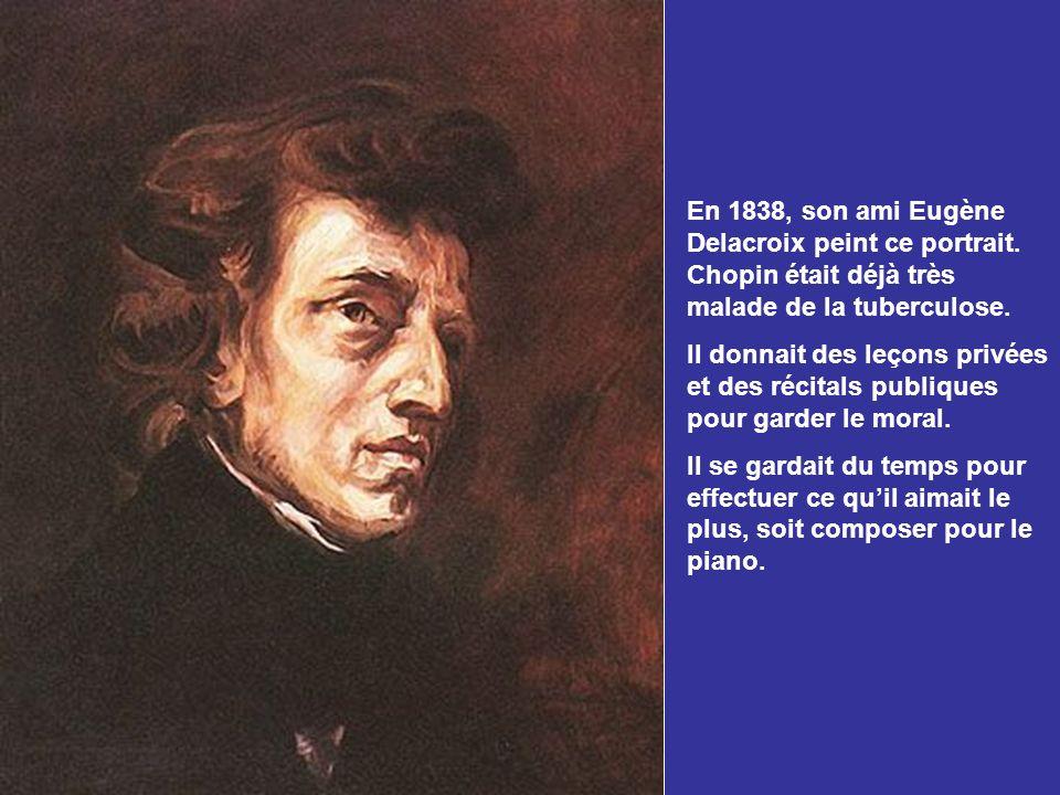 Chopin établit une grande amitié avec Camille Pleyel qui était propriétaire des ateliers de fabrication des pianos Pleyel. Dès lors, tous les pianos d
