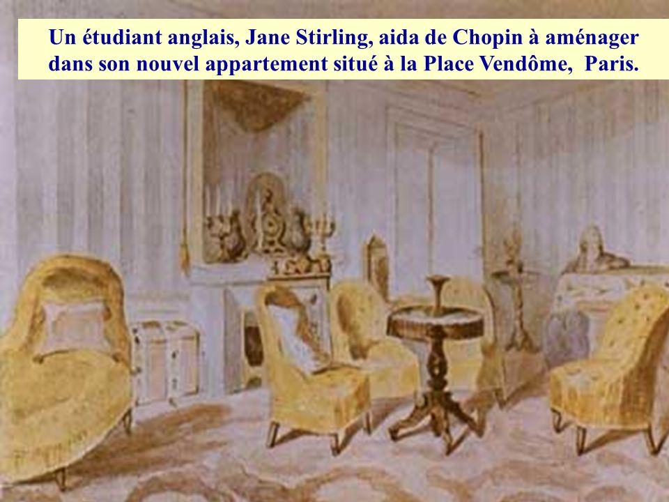 En 1845, la relation entre Chopin et Aurore connurent de sérieux problèmes ce qui provoqua une détérioration de sa santé déjà fragile. Ces problèmes o