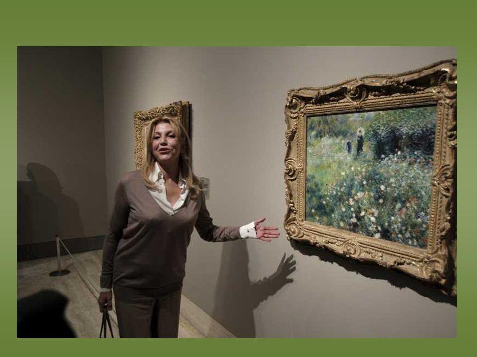 Claude Monet. Le jardin dartiste à Argenteuil – 1873 -