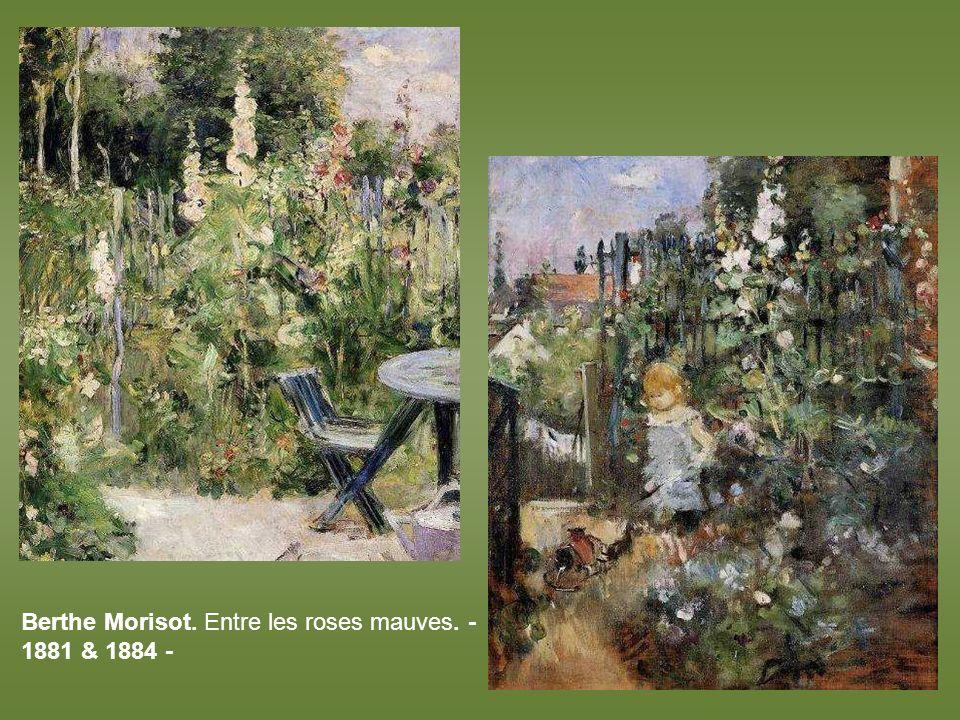 Edouard Manet. La maison de Rueil – 1882 -
