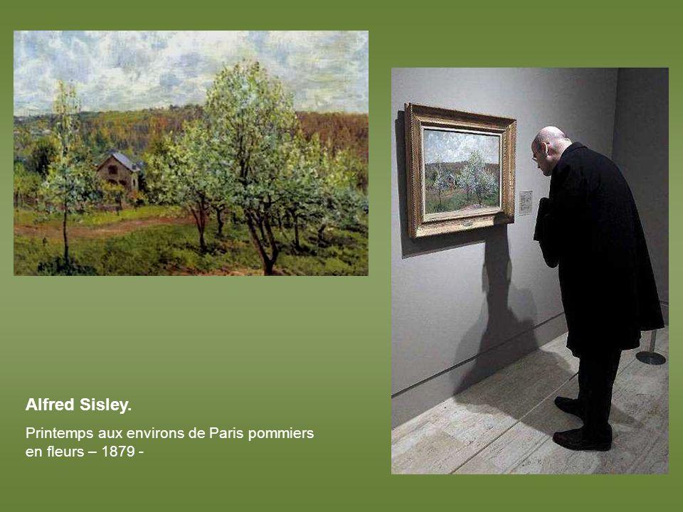 Paul Gauguin. Patineurs dans les jardins de Frederiksberg – 1884 -