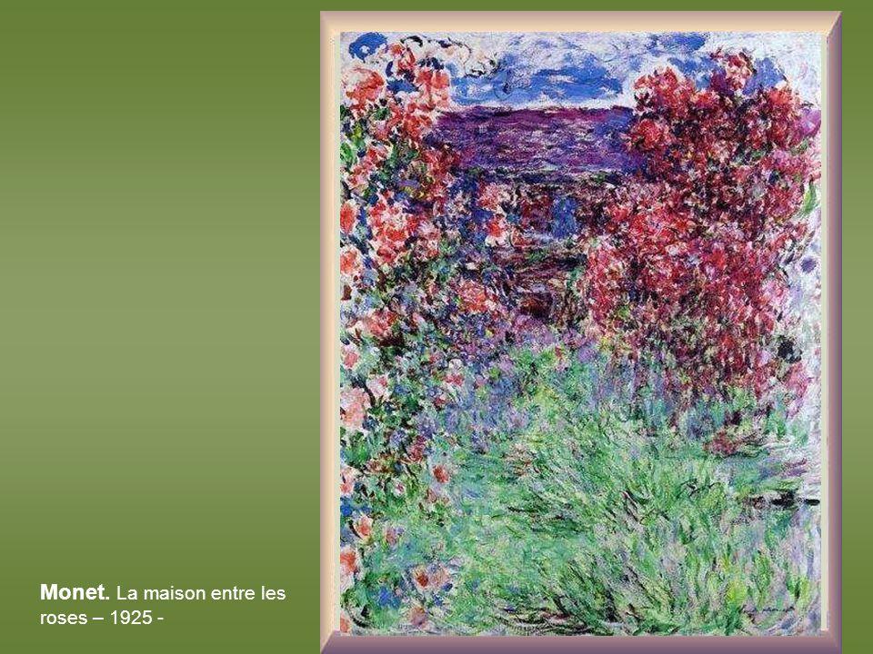 Gustav Klimt. La maison du garde-foretier à Weissenbach dans lAttersee – 1914 -