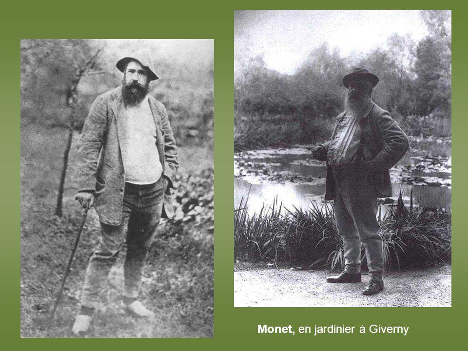 Monet. La maison entre les roses – 1925 -