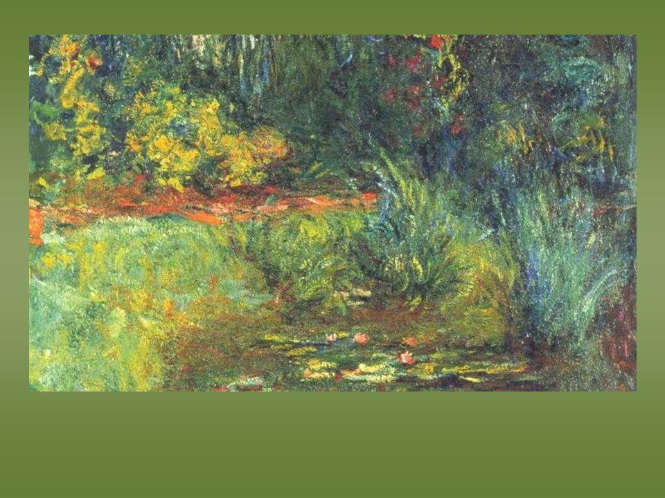 Monet. Etang des nénuphars. 1918