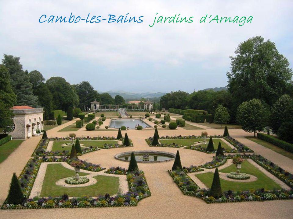 Cambo-les-Bains villa Arnaga demeure de Edmond Rostand