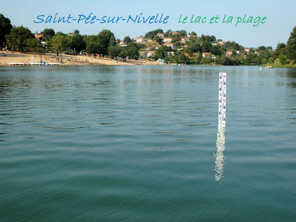 . Itxassou le pas-de-Roland, le long de la Nive Sare le village