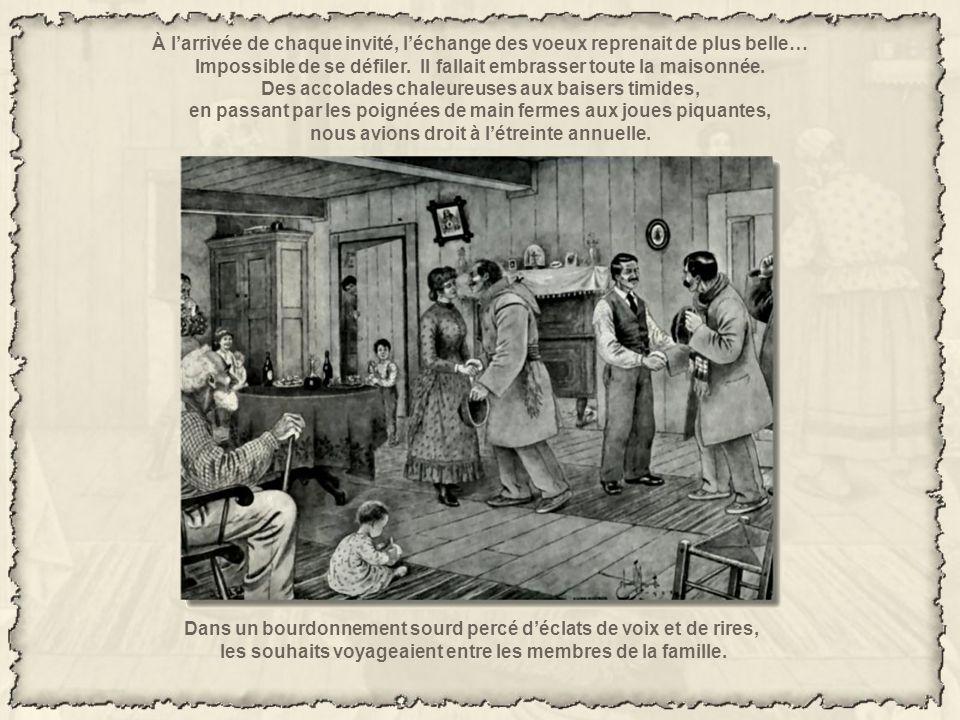 À la «vieille maison», cest ainsi que lon surnommait la demeure des ancêtres, étaient conviés tous les enfants et leur progéniture, sans égards pour l