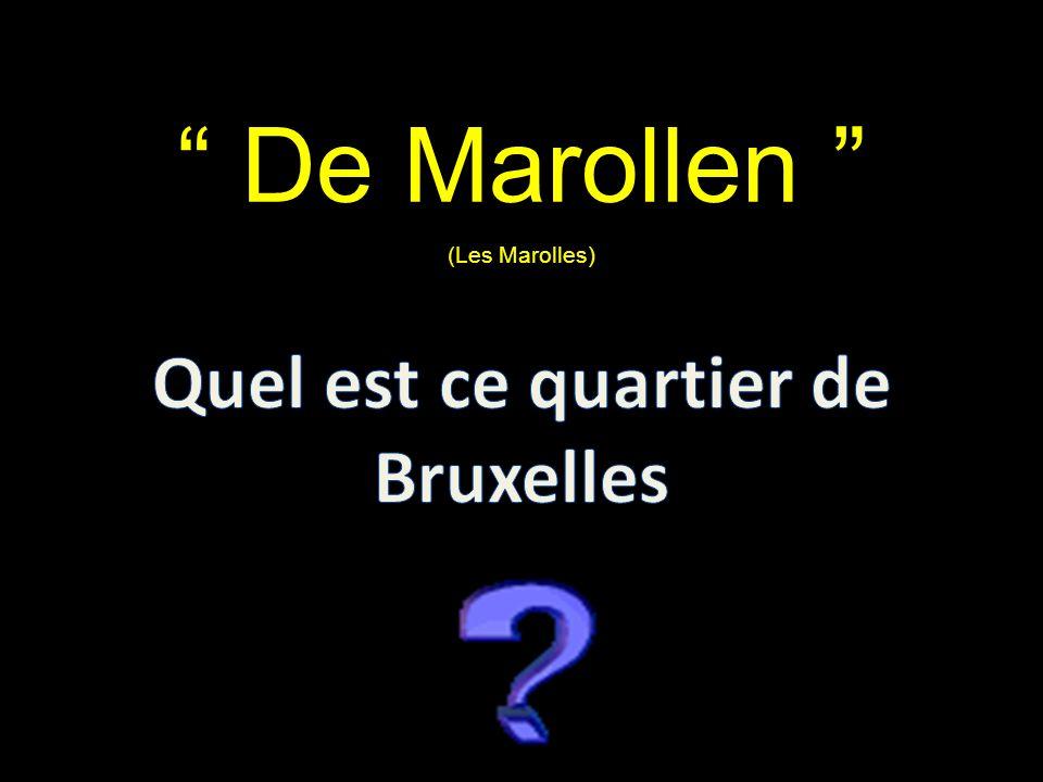 De Marollen (Les Marolles)