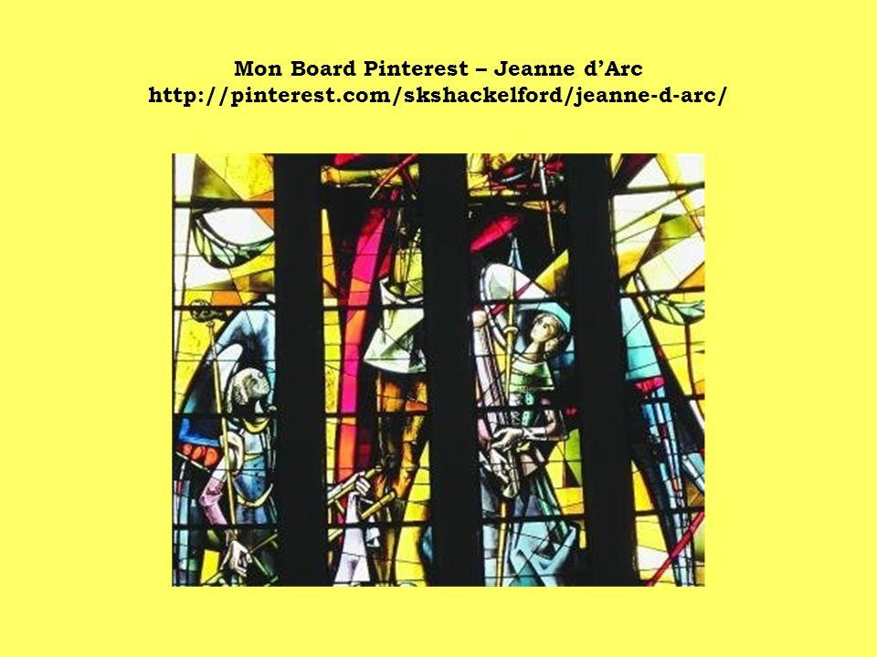 Mon Board Pinterest – Jeanne dArc http://pinterest.com/skshackelford/jeanne-d-arc/