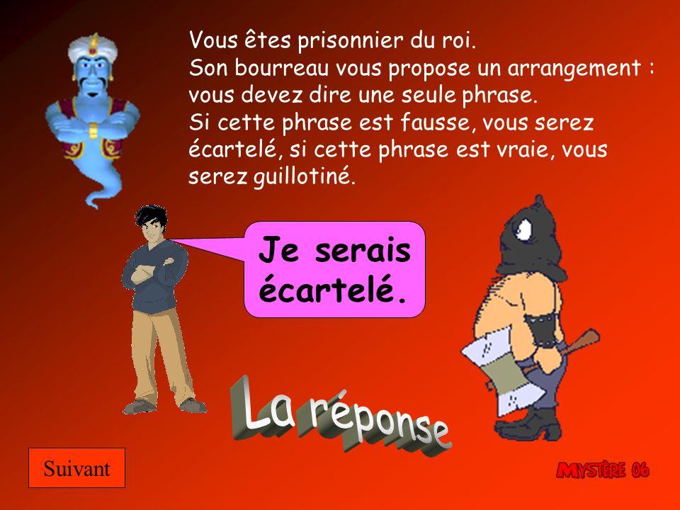 Diaporama PPS réalisé pour http://www.diapo ramas-a-la- con.com http://www.diapo ramas-a-la- con.com Vous êtes prisonnier du roi.
