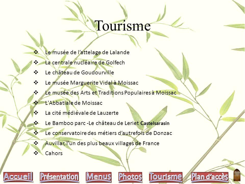 Plan daccès Auberge Le Petit Robinson Lieu dit Lalande 82400 Goudourville Route de Cahors D 953