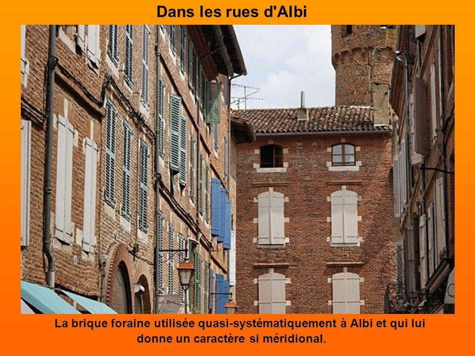 Le musée Toulouse-Lautrec Le peintre du XIXe siècle Henri de Toulouse-Lautrec est à l'honneur dans sa ville natale. Albi possède en effet la plus impo