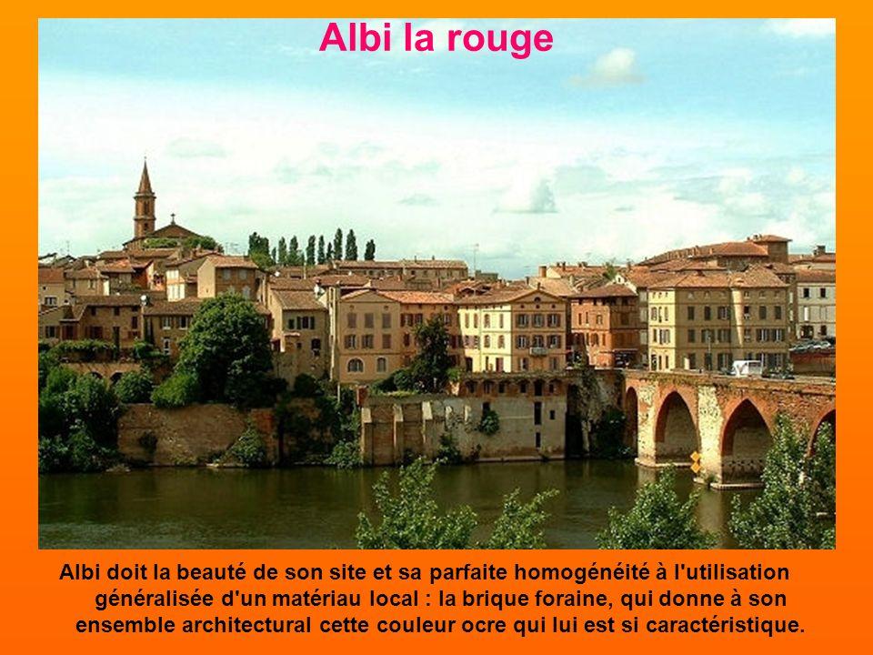 Retenue pour son ensemble remarquablement préservé, parfait exemple du style gothique méridional en France, la cité épiscopale d'Albi, vient de faire