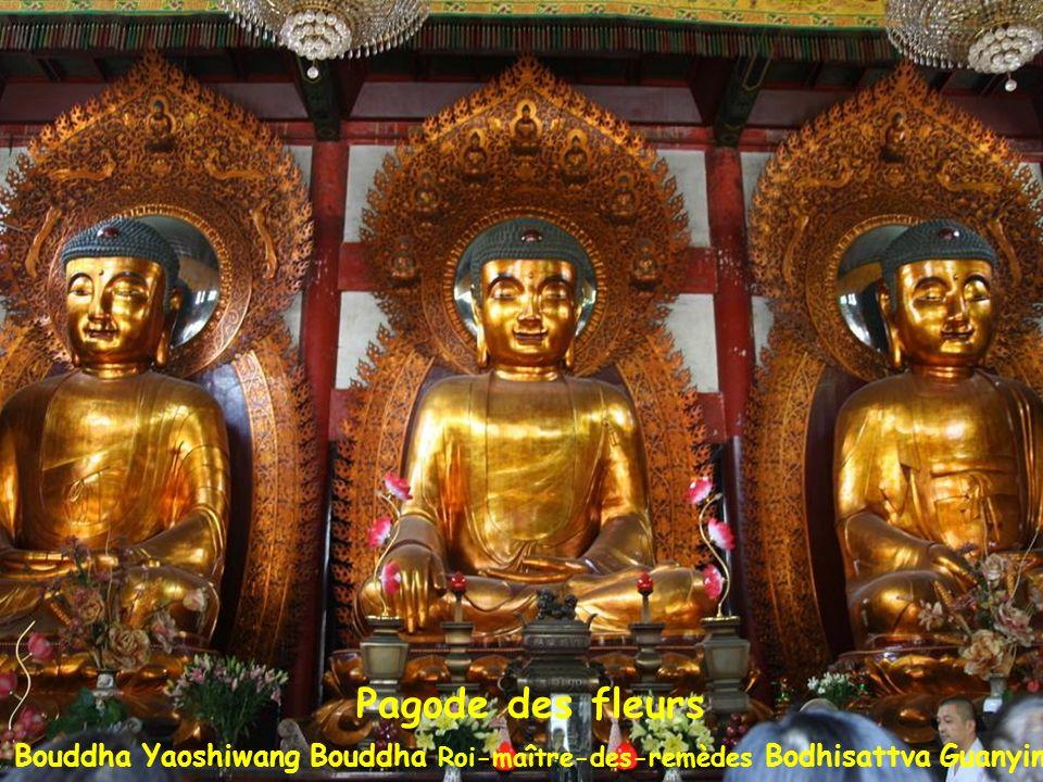 Temple des 6 Banians Temple des Six Banians: Pagode des fleurs 58 m (1097), surmontée dune colonne en bronze dite des Mille Bouddhas (1358)