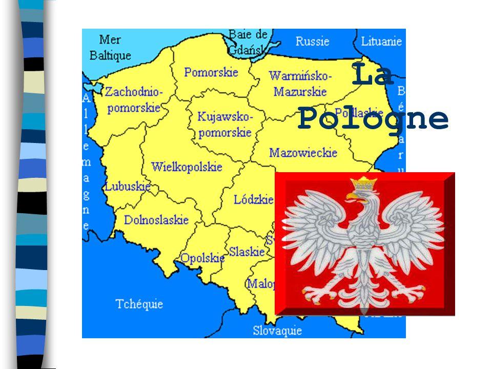 La Pologne se situe en Europe Centrale. Elle a des frontières avec lAllemagne à louest, la République Tchèque et la Slovaquie au sud, lUkraine, la Bié