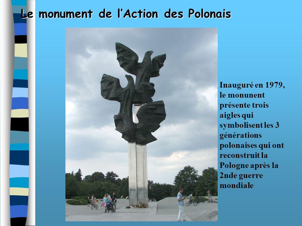 Le monument en lhonneur de Jean Paul II Ce monument commémore la visite du Pape polonais en 1987