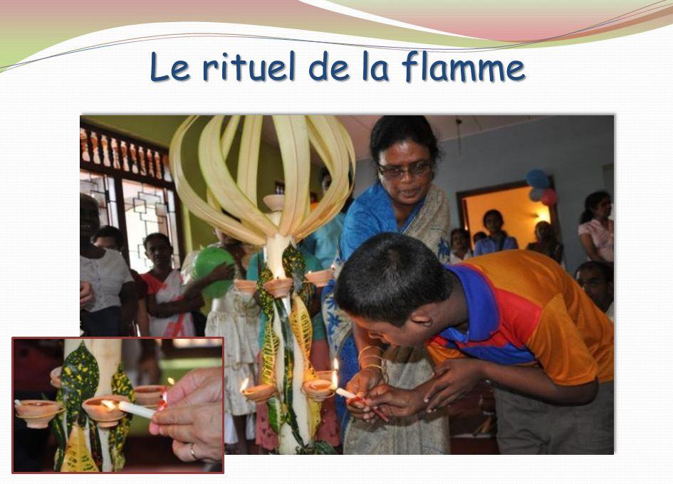 Le rituel de la flamme