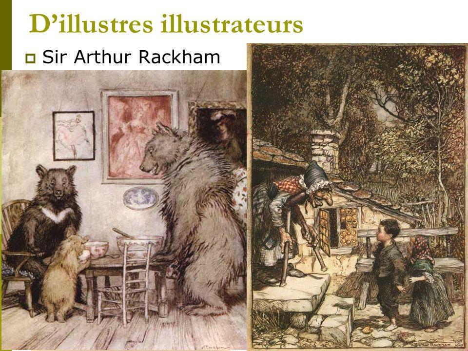 Dillustres illustrateurs Sir Arthur Rackham