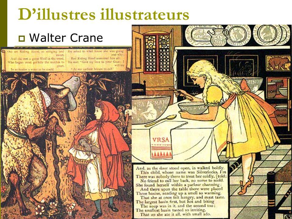 Dillustres illustrateurs Walter Crane Hommage à Walter Crane dans Le Tunnel dAnthony Browne