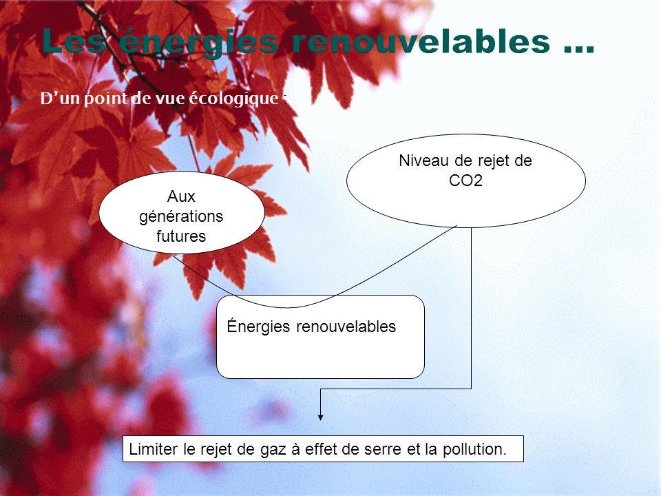 4) Biomasse La Biomasse est une réserve dénergie, elle couvre 77% des énergies renouvelables.