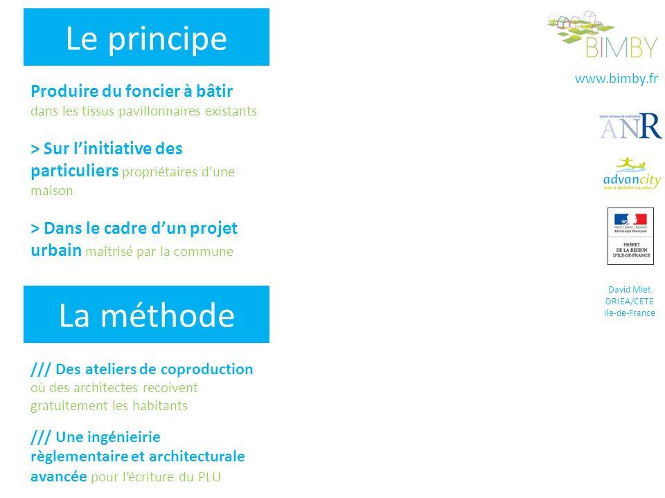 www.bimby.fr David Miet DRIEA/CETE Ile-de-France /// Des ateliers de coproduction où des architectes recoivent gratuitement les habitants