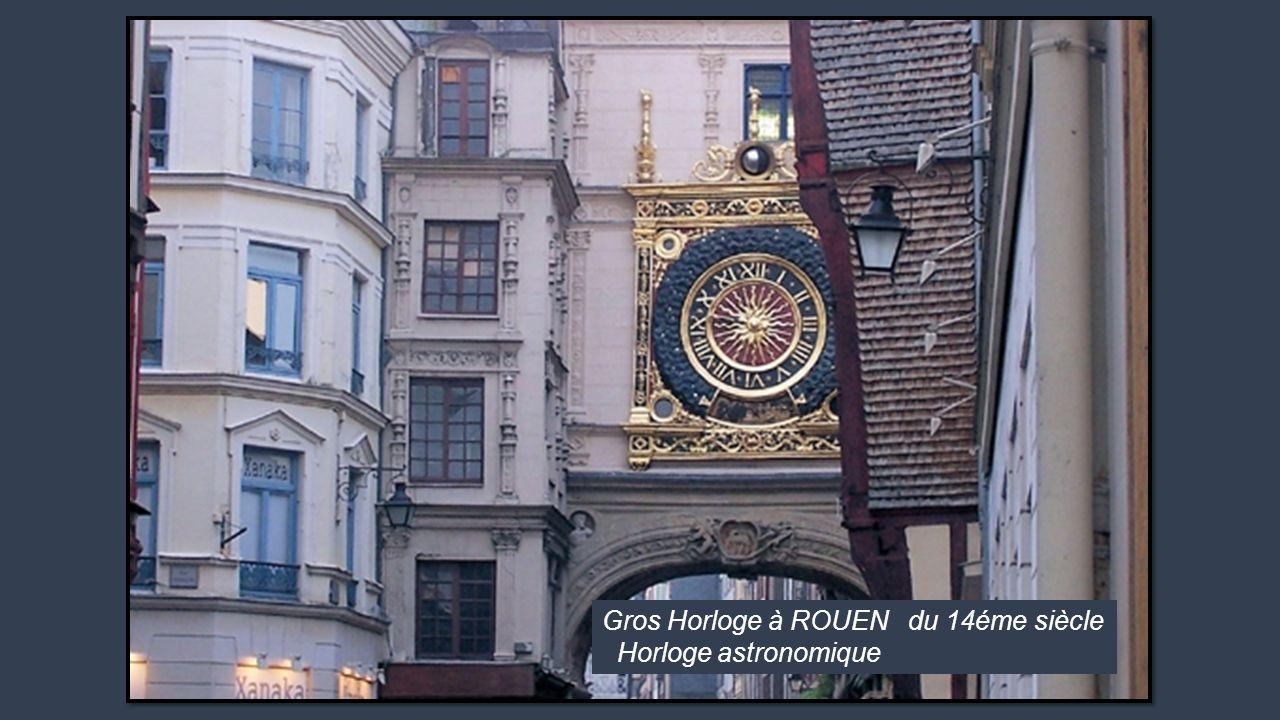 Gros Horloge à ROUEN du 14éme siècle Horloge astronomique