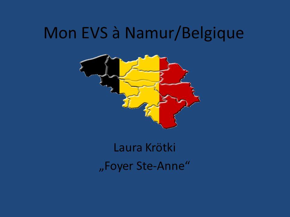 Mon EVS à Namur/Belgique Laura Krötki Foyer Ste-Anne