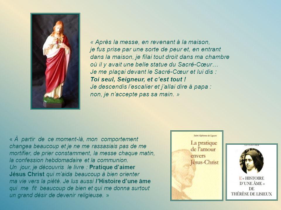 La proposition de papa Antoine est comme un éclair qui déchire les nuages et qui provoque une grande décision chez Ursule. En effet, après la messe do