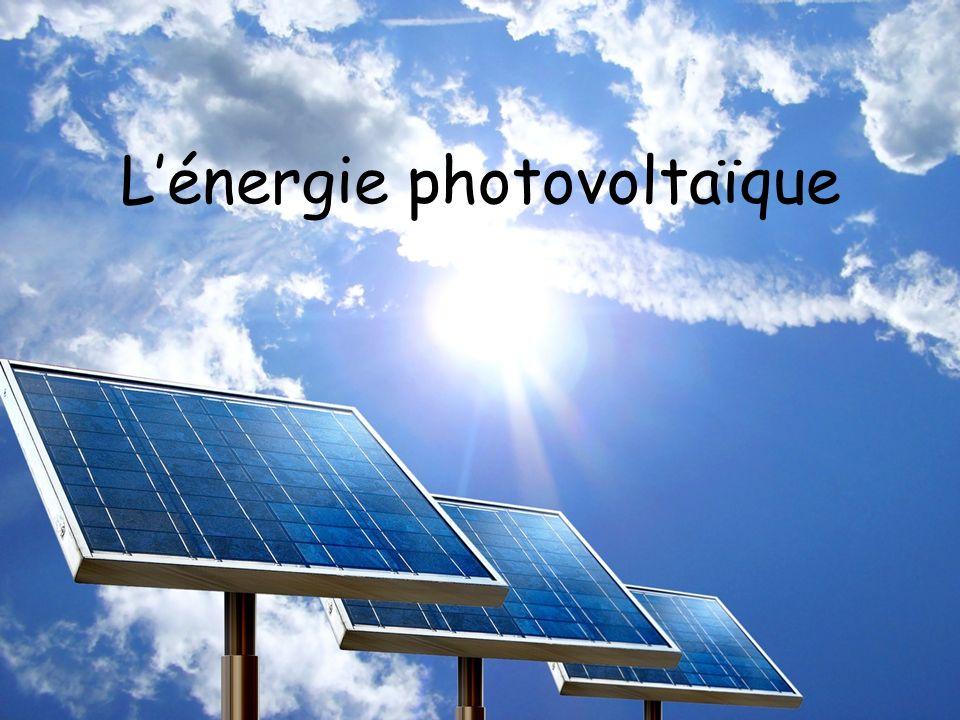 Lénergie photovoltaïque