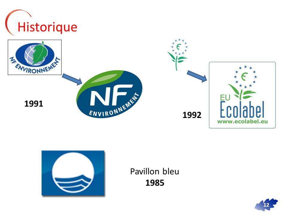 12 Historique 1991 1992 Pavillon bleu 1985