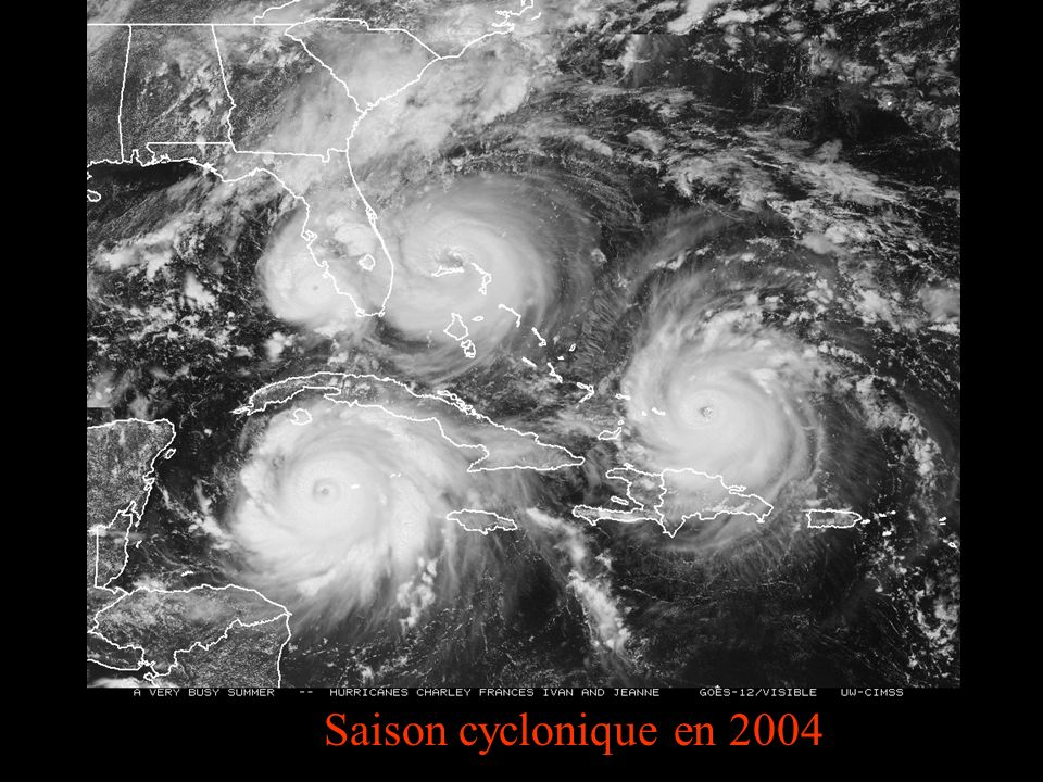 Saison cyclonique en 2004