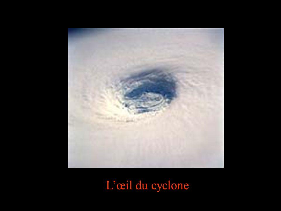 Lœil du cyclone