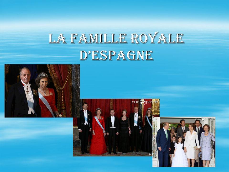 La famille royale dEspagne