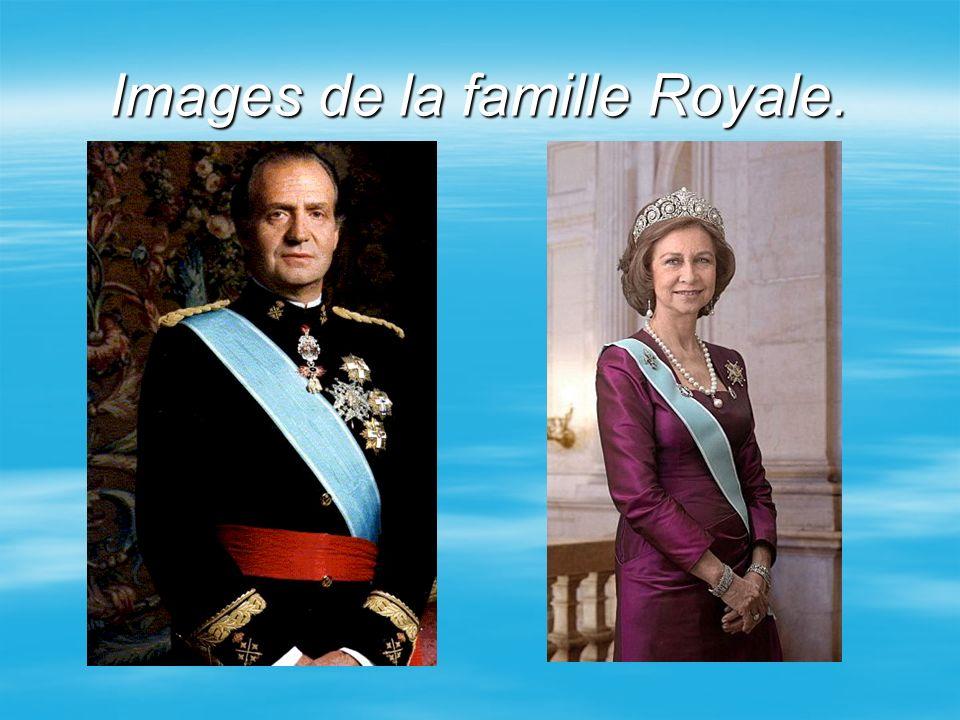 Images de la famille Royale, (suite) Felipe Sofia Cristina Juan Carlos Elena Elena