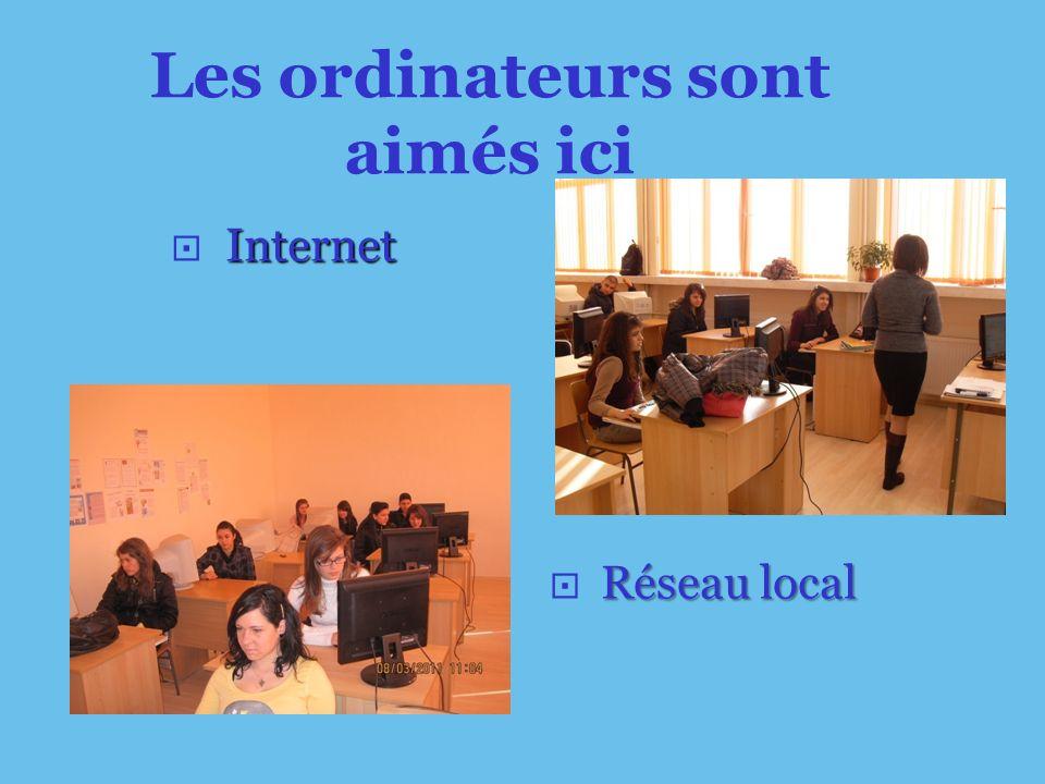 Réseau local Internet Les ordinateurs sont aimés ici