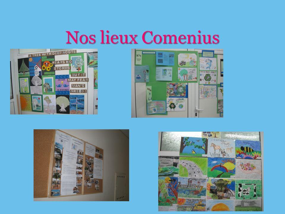 Nos lieux Comenius