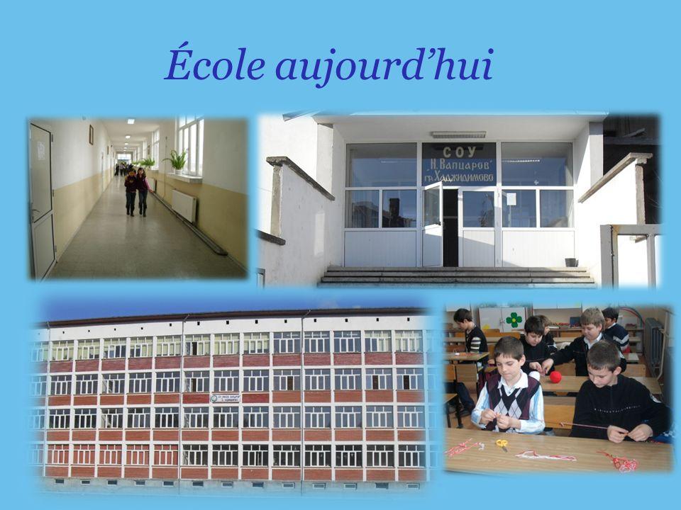 École aujourdhui