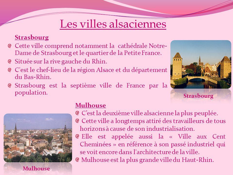 Subdivisions historiques de lAlsace Haute-Alsace La Haute-Alsace est la partie méridionale de l'Alsace, correspondant à peu près aux départements actu