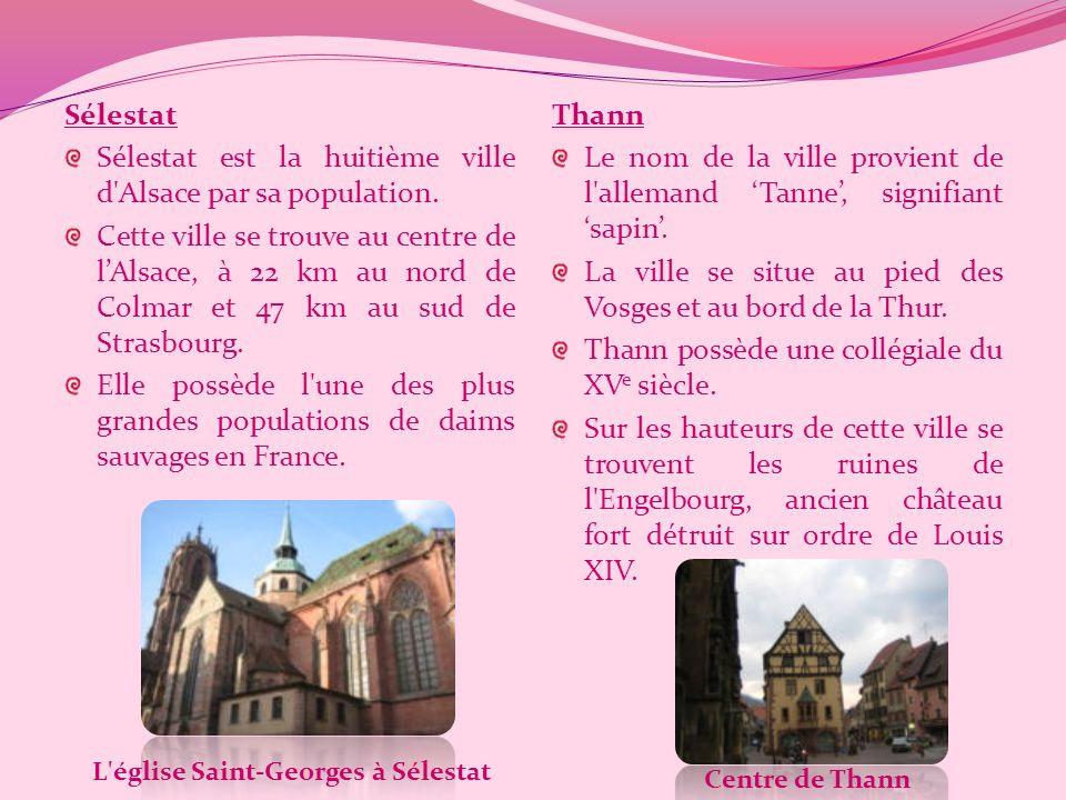 Schiltigheim Cest la cinquième ville d'Alsace par sa population. Elle est surnommée la « Cité des Brasseurs » en raison du nombre de brasseries qui s'