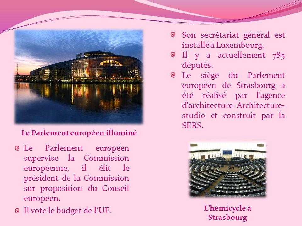 Le parlement européen Le Parlement européen est le corps parlementaire de lUnion européenne (UE).