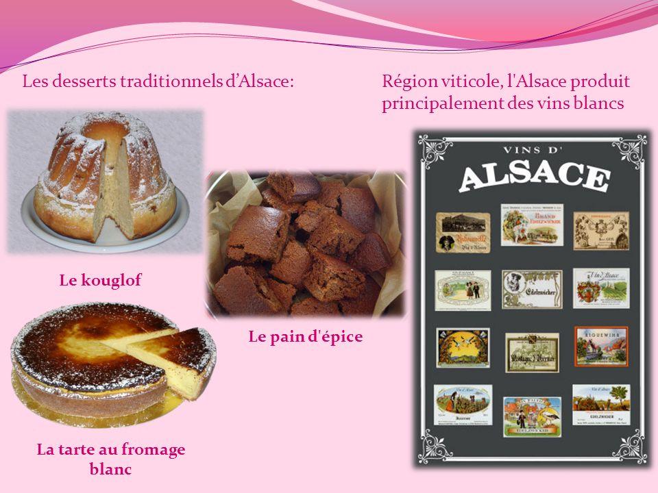 La Gastronomie alsacienne Les plats traditionnels dAlsace: Le baeckeoffe La tarte flambée La choucroute La tarte à l'oignon